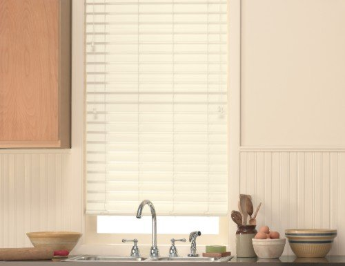 "Aspen 2 1/2"" Faux Wood Blinds"