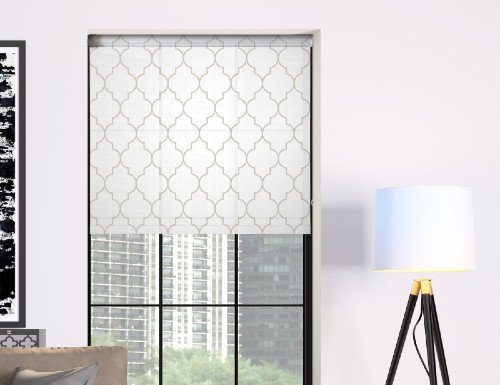 Contemporary Printed Roller Shades
