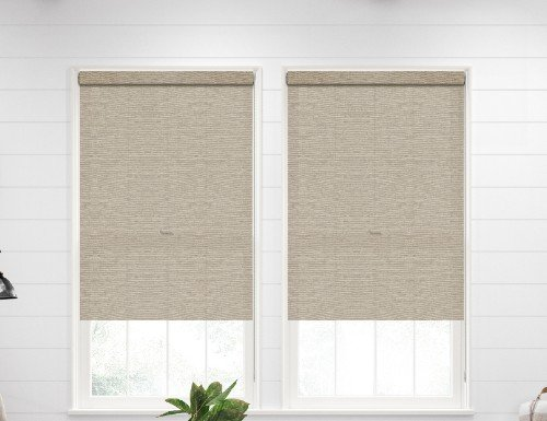 Contemporary Textured Roller Shades