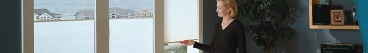 Cordless Solar Screen Shades