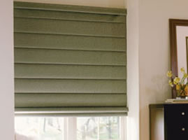 Overview of Cordless Roman Shades