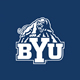 BYU Logo on Blue