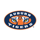 Auburn Tigers Logo on White