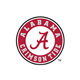 Alabama Crimson Tide Seal on White