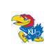 Jayhawks  Logo on White
