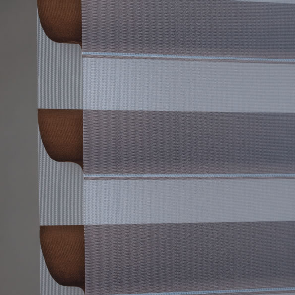 Light Filter Horizontal Sheer Shades in Cocoa