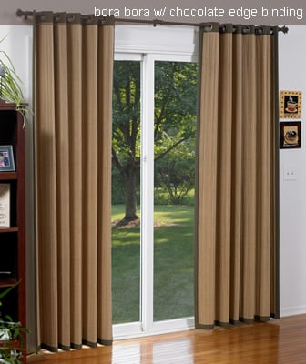 woven wood curtains