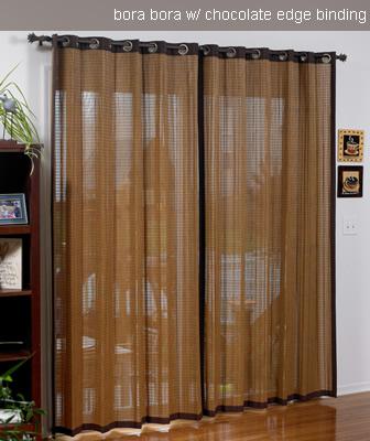 Bamboo Drapes